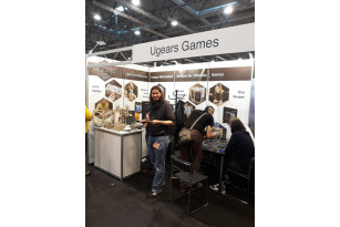 Ugears Games Team is meeting friends at Spiel '19 in Essen