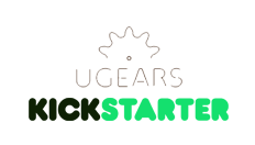 Ugears successfully completed the Hurdy-Gurdy campaign, the 4th campaign on Kickstarter