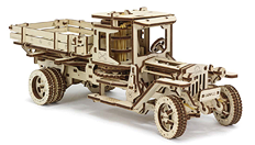 The Ugears UGM-11 Truck in Truck Model World magazine