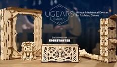 Ugears презентує колекцію унікальних механічних девайсів для настільних ігор