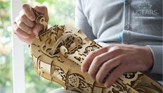 The Ugears Hurdy-Gurdy: inspired by medieval craftsmen & engineered with love for music