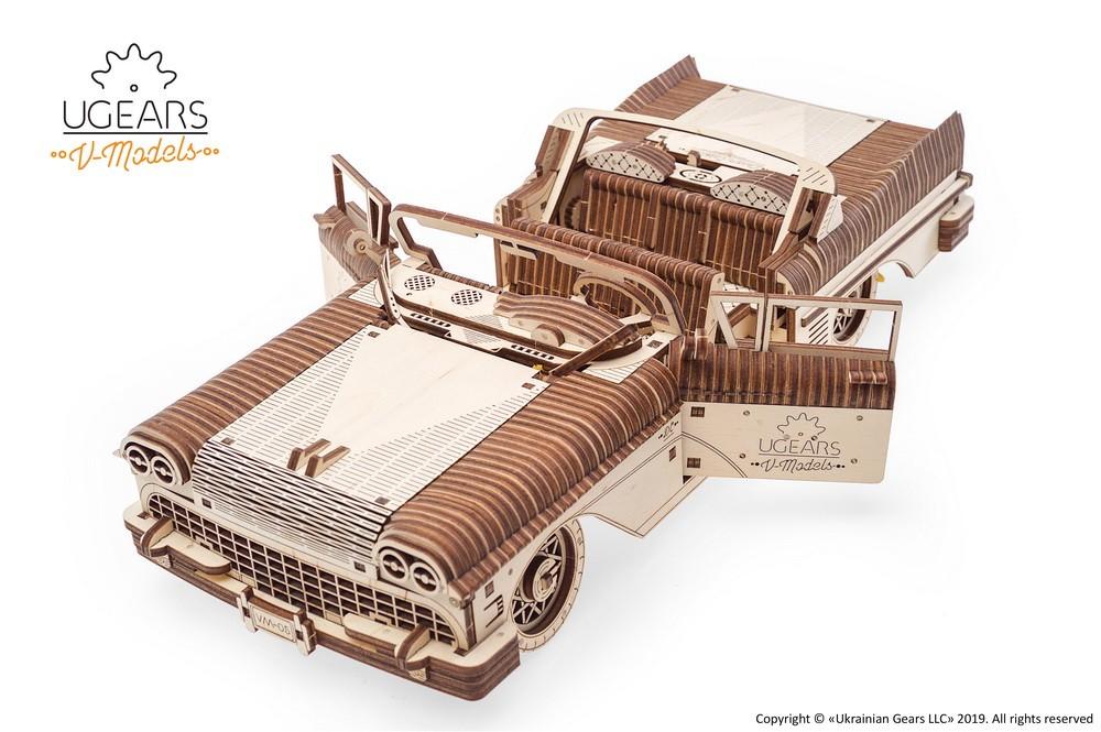 Dream Cabriolet VM-05 mechanical model kit