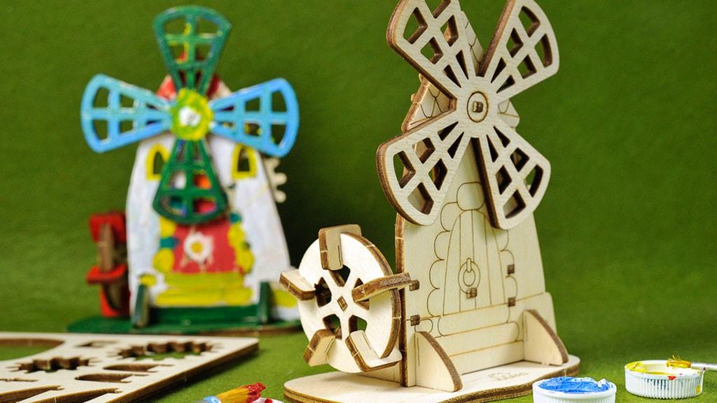 3D coloring model «Mill»