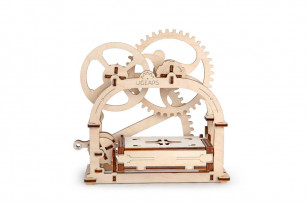 Mechanical Box wooden model