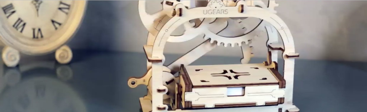 Unique Wooden Mechanical Models Ugears Models