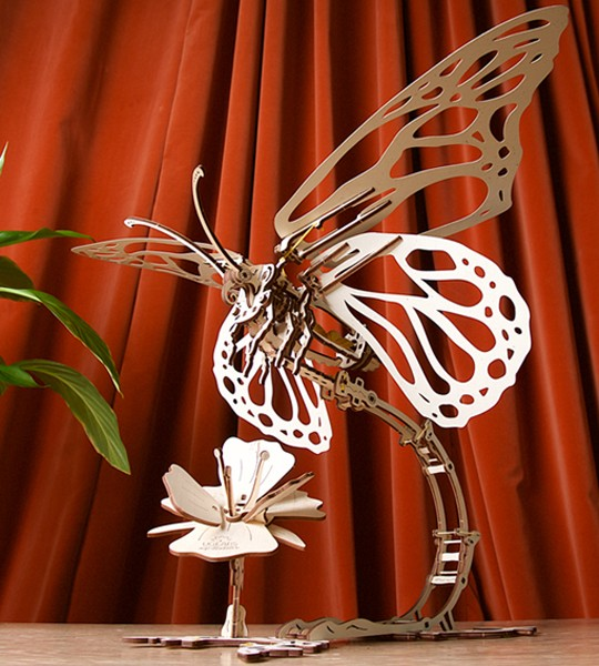Butterfly: Ugears Mechanical Model