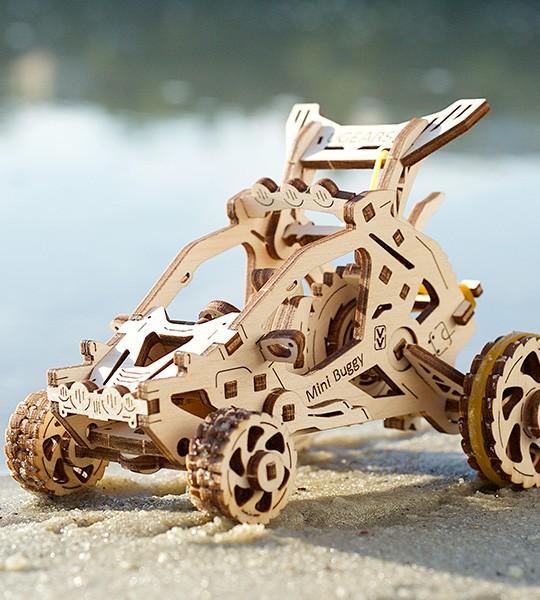 Mini-buggy mechanical model kit