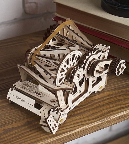 Mechanical educational STEM model Variator by  Ugears