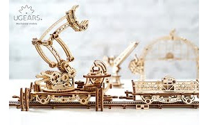 Model Rail Manipulator. Mechanical Town Series