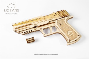 'Wolf-01 Handgun' mechanical model kit