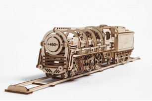 Model «STEAM LOCOMOTIVE WITH TENDER»
