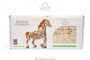 Horse-Mechanoid mechanical model kit
