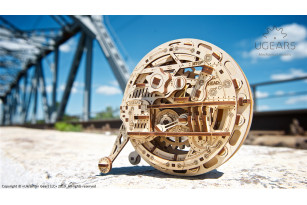 Monowheel mechanical model kit