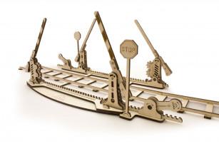 """Механічна модель """"Комплект рейок із переїздом"""""""