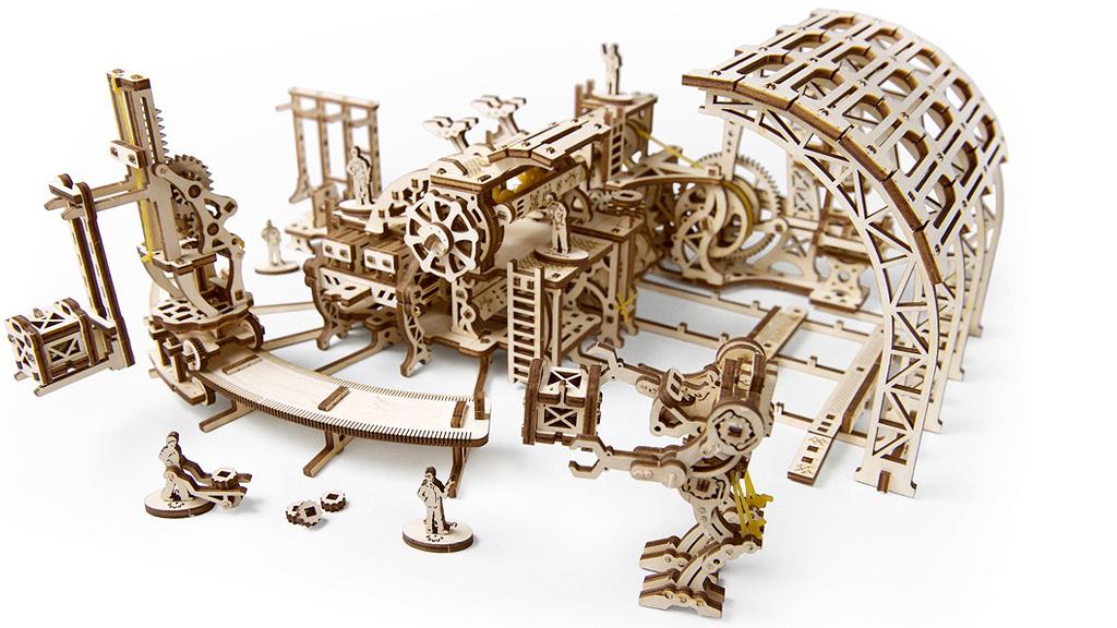 Robot Factory Model