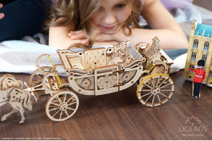 «Royal Сarriage» mechanical model kit