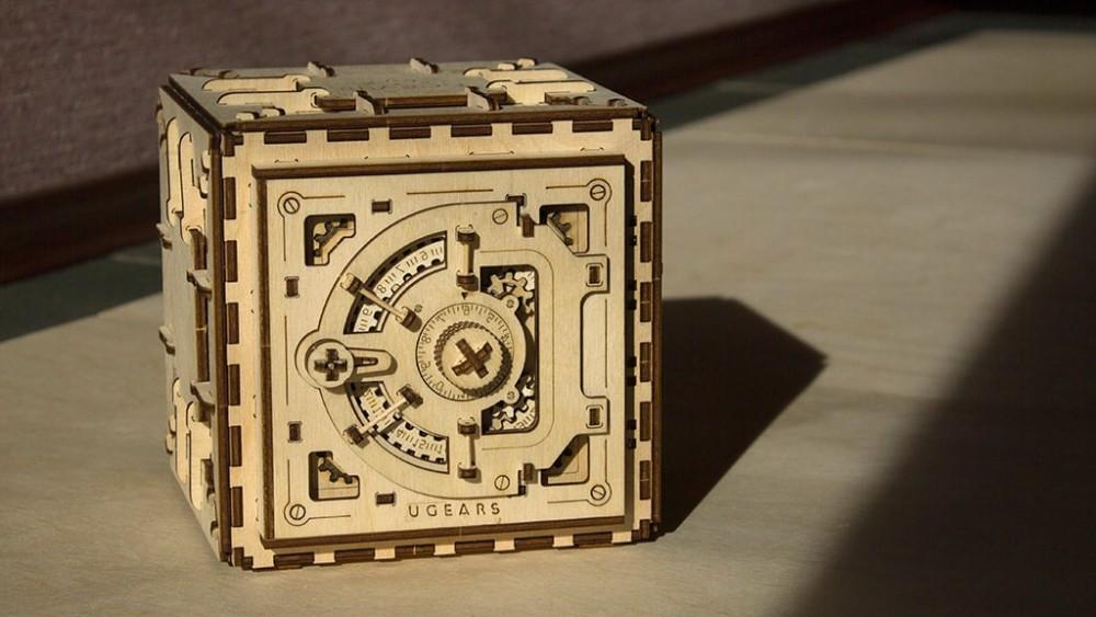 Mechanical 3d Safe Puzzle