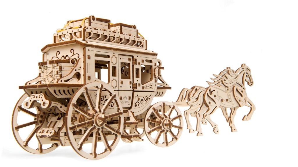 Механічна модель «Поштовий диліжанс»