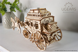 'Stagecoach' mechanical model kit