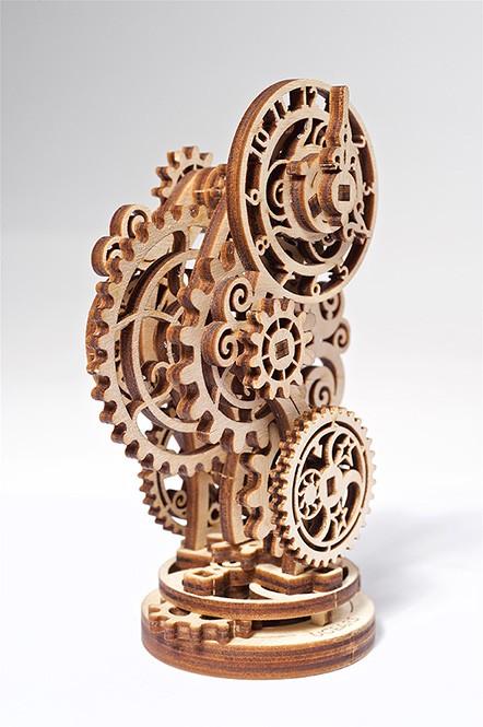 UGEARS Steampunk Uhr mechanische Bausatz Modell