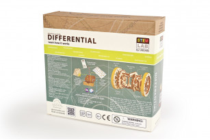 «Differential» educational mechanical model kit