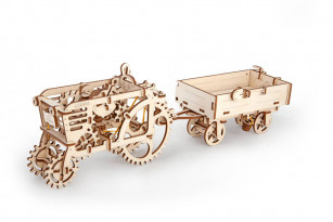 Tractor's Trailer mechanical model kit