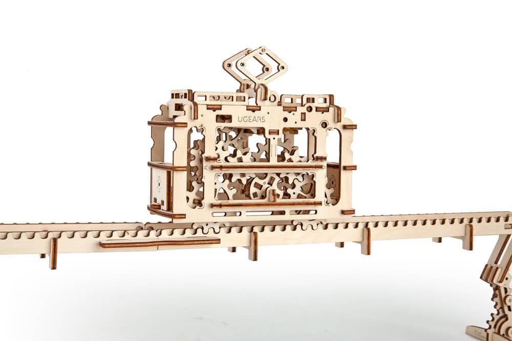 Model «TRAM ON RAILS»
