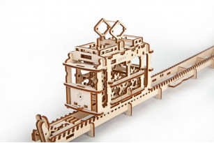Tram on Rails mechanical model kit