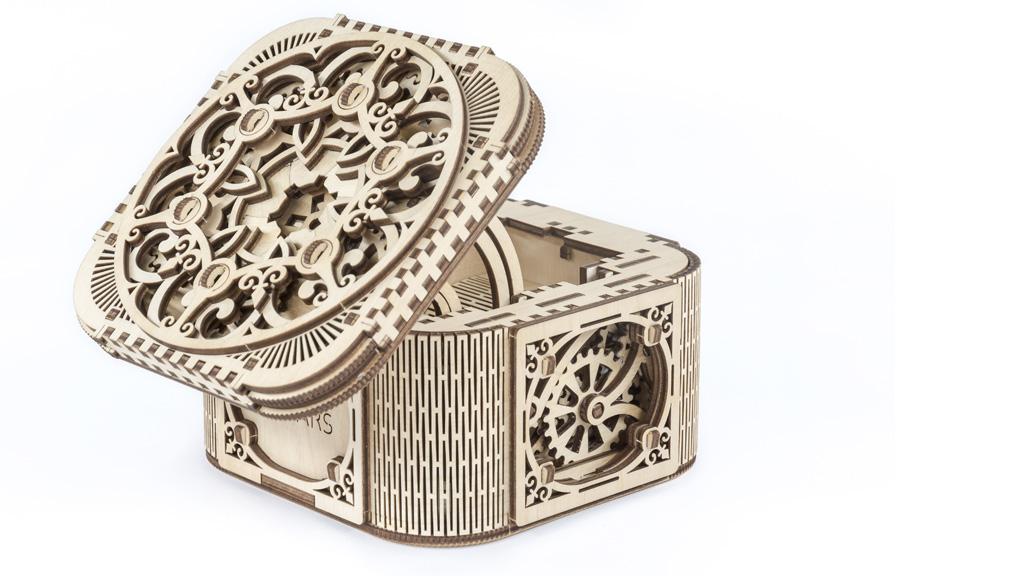 Cofre Joyero kit modelo mecánico