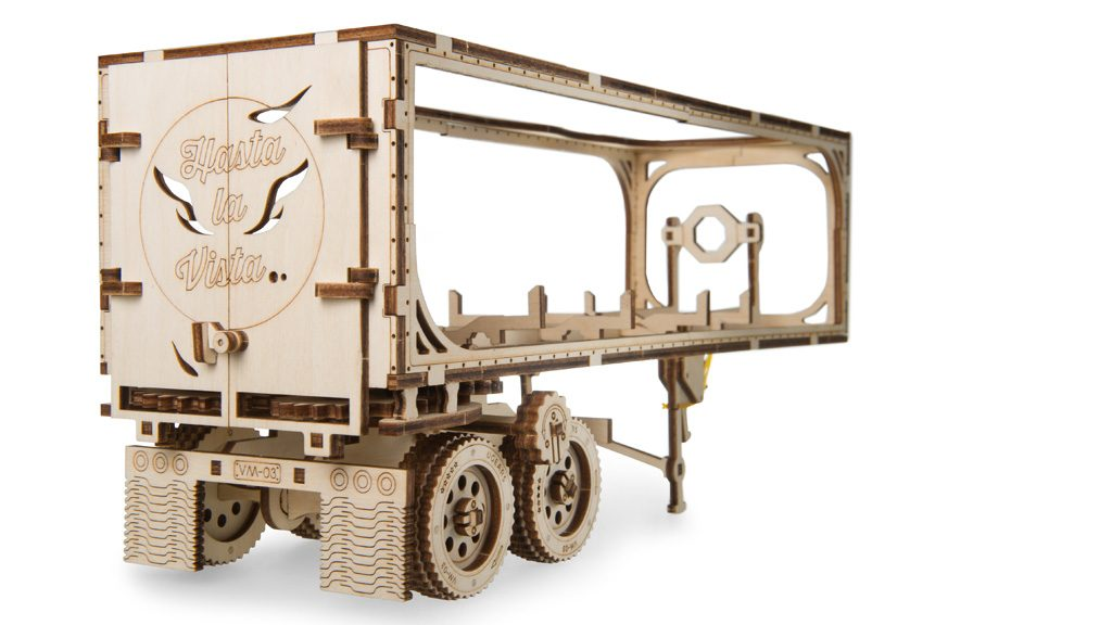 «Trailer for Heavy Boy Truck VM-03» mechanical model kit