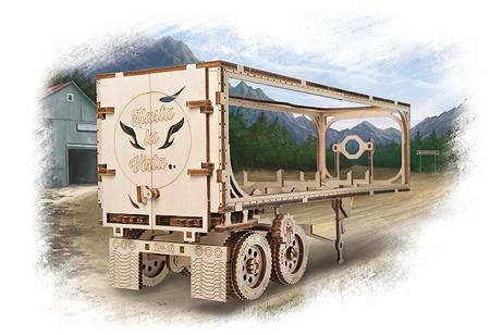 Trailer for Heavy Boy Truck VM-03