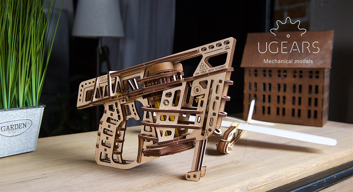 Premier of new Ugears models at Spielwarenmesse 2019