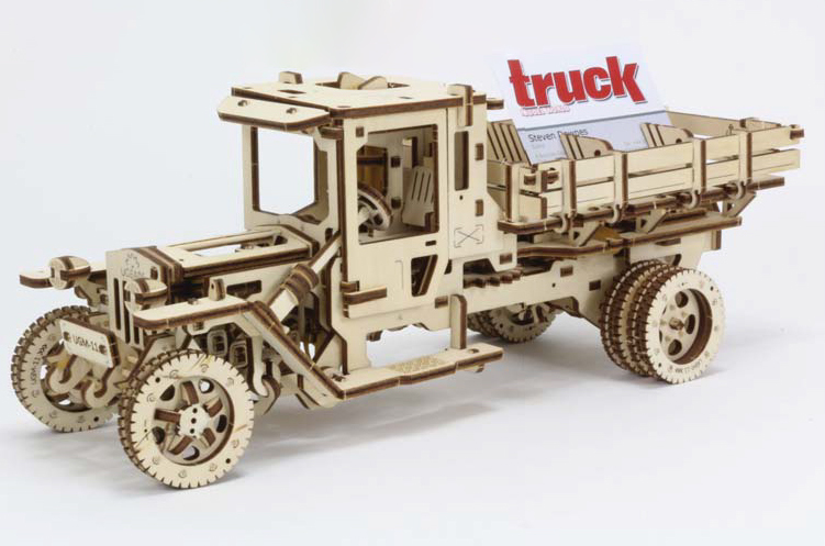 The Ugears Ugm 11 Truck In Truck Model World Magazine